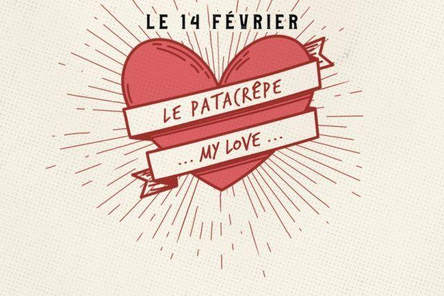 Makis de crêpe à partager St Valentin Le Patacrêpe Photobooth