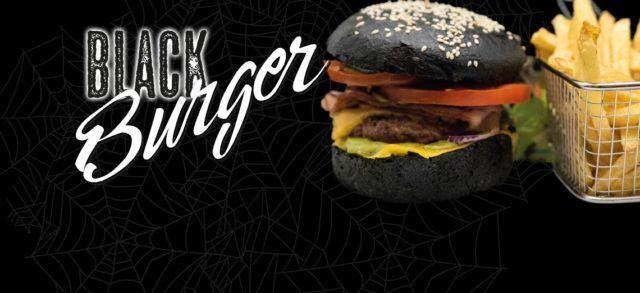 Black Burger Halloween le Patacrêpe crêperie