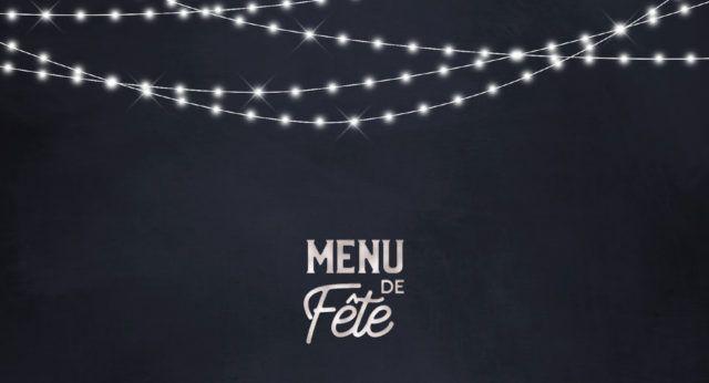 Menu de fête le patacrêpe restaurant crêperie
