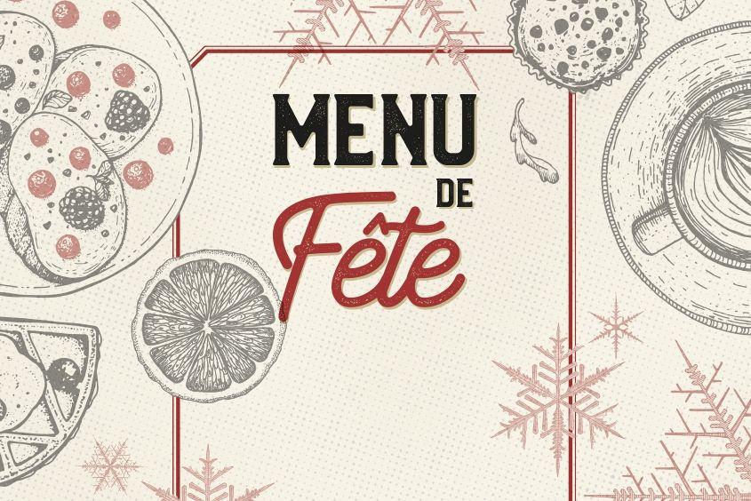 le patacrêpe menu de fête décembre 2018 25€