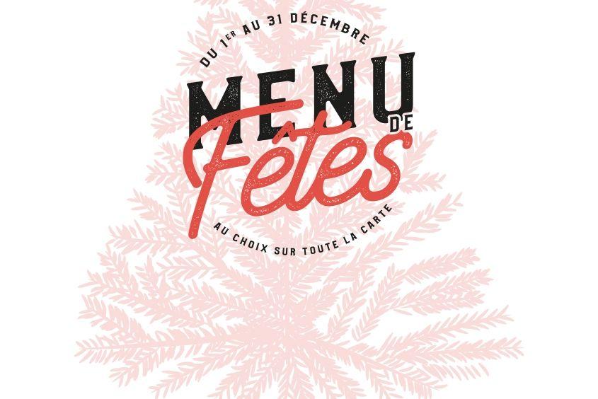 menu de fêtes le patacrêpe plat desserts boissons 25€