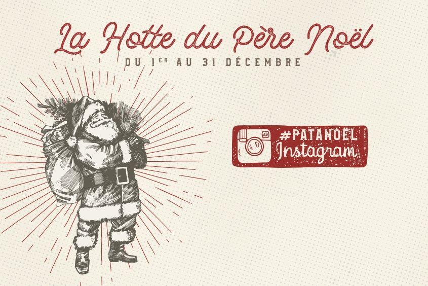 le patacrêpe la hotte du pere noël instagram #patanoël patanoël gagner 50€ 2 menus