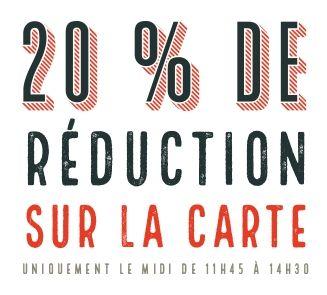 20 % de réduction Offre privilège entreprise Patacrêpe