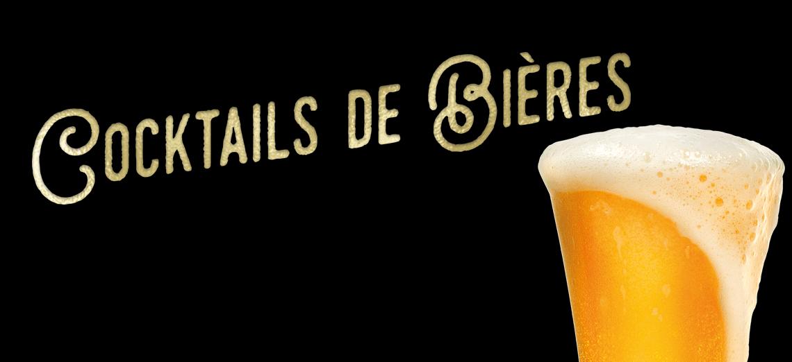 Cocktails de bière Patacrêpe