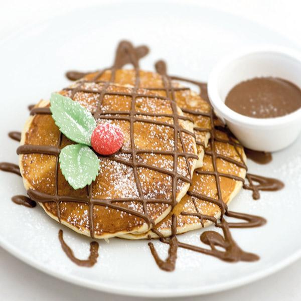 Nutella ou Caramel au beurre salé ou sirop d'érable pancake le patacrêpe