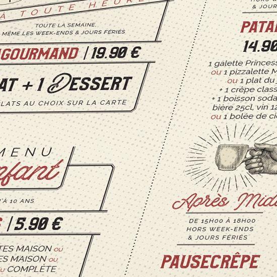 le patacrêpe nouvelle carte hiver 2018 signature alain le cossec meilleur ouvrier de france